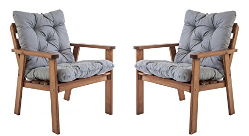 Ambientehome-Gartensessel-Loungesessel-Sessel-Gartenstuhl-Massivholz-inkl-Kissen-HANKO-2-teiliges-Set