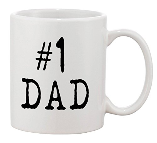 P&B #1 Dad Mug Gift For Dad And Grandpa! Ceramic Tea Coffee Cup Mugs (11 (Best P&b Dad Grandpas)