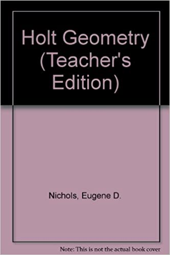 2012 holt mcdougal geometry book teacher's edition homeschool vgc.