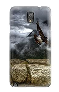 Faddish Phone Mountain Earth Case For Galaxy Note 3 / Perfect Case Cover