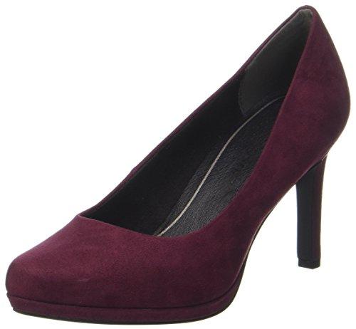 chianti Marco Zapatos Tozzi Para Rojo Mujer De 22401 Tacón H8gqpxHw