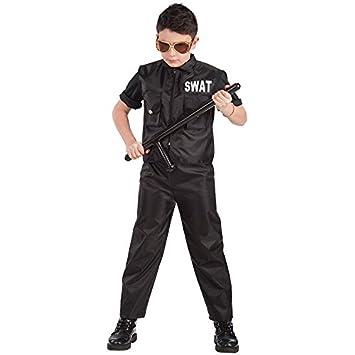 Carnival Toys 65895 - Policía SWAT Team, Disfraz para niños ...
