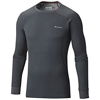 Men's Heavyweight II Long Sleeve Baselayer Top Graphite-053 Large