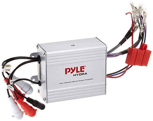 Pyle Compact Marine Amplifier Kit