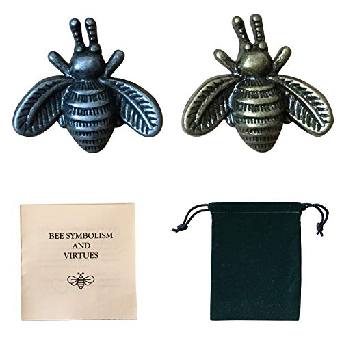Talismans Totem - Burbanix Bee Pins Brooches Good Luck Charm Talisman Totem Bumblebee Minimalist Contemporary Design