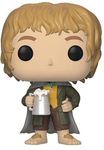 Funko Pop Movies: Lord of the Rings-Merry Brandybuck Collectible Figure (Rings Figure Lord)