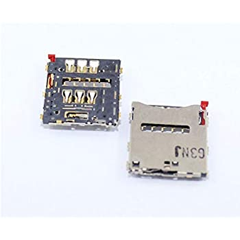 Amazon.com: 2 x Micro SIM Card Tray Holder Slot Repuestos ...