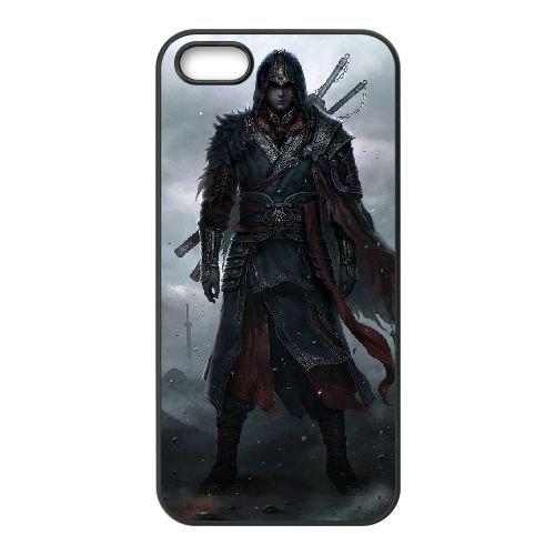 Le credo de I1M55 L3S2GO coque iPhone 5 5s cellulaire cas de téléphone couvercle coque noire XD7COH8SR