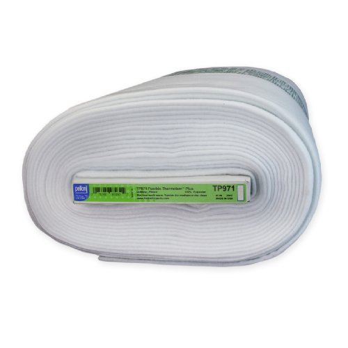 (Pellon TP971F Fusible Thermolam Plus White)