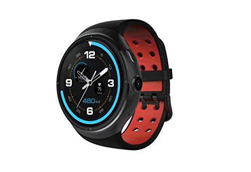 ZEBLAZE THOR GSM Smart Wrist Watch High Resolution 1.4inch Super AMOLED 1GB+16GB GPS WIFI SAMSUNG Heart Rate Monitor Anroid 5.1 Breathable watchband