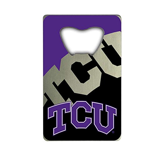 NCAA TCU Horned Frogs Credit Card Style Bottle Opener ()