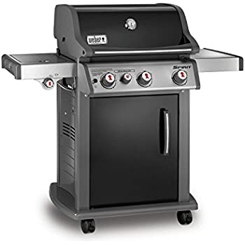 Weber 46810001 Spirit E330 Liquid Propane Gas Grill, Black