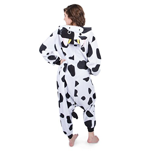Amazon.com: Emolly Fashion Adult Cow Animal Onesie Costume Pajamas for Adults and Teens: Clothing