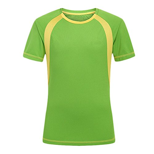 Sleeve Zhhlaixing Verde Short Sports Quick Shirt Dry T Men wfq7fxzg