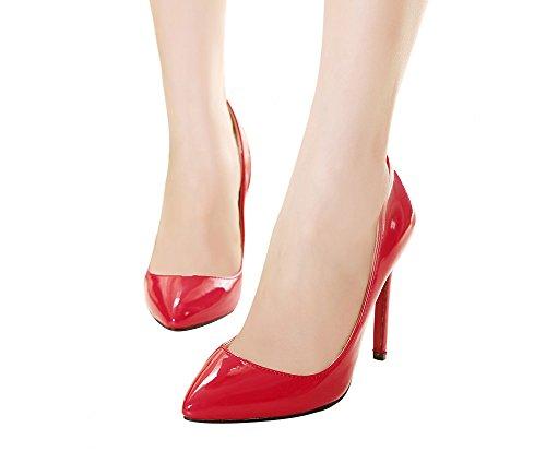 NIUERTE NIUERTEWife - Zapatilla Baja Mujer, Color Rojo, Talla 43 EU