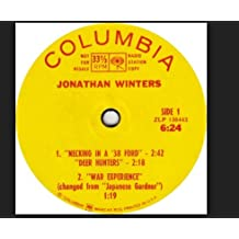 Jonathan Winters - Necking In A '38 Ford/ Japanese Gardner + 5. EP (1968)