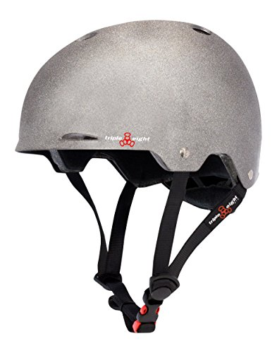 Triple Eight Triple Eight Gotham Helmet, Reflective Darklight, Large/X-Large