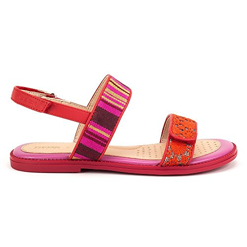 Geox Sandal Karly Girl - J8235J0AW8JC0470 - Color Red - Size: 13.0 by Geox