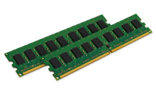 Ibm Server Memory - Kingston Technology 4GB Kit (2x2 GB) 400MHz DDR2 PC2-3200 240-Pin Dual Rank Chipkill DIMM Memory for Select IBM Servers KTM2865/4G