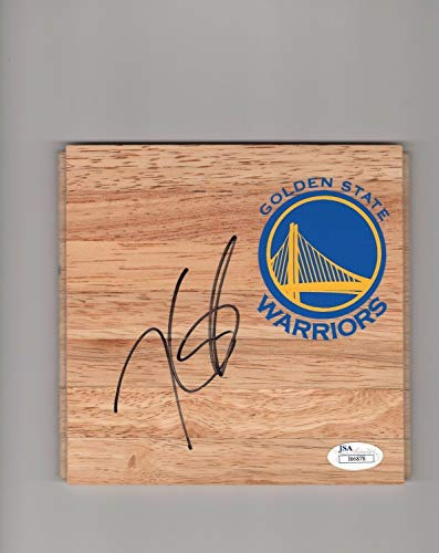 Kevin Durant Golden State Warriors Autographed Signed Memorabilia 6X6 Floor Piece With - JSA Authentic