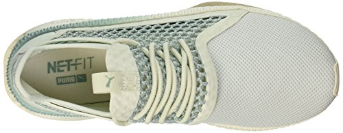 Puma Mens Tsugi Netfit Sneaker Blue Flower-aquifer-whisper White