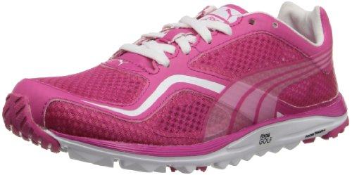 PUMA Women's Faas Lite Mesh Golf Shoe,Beetroot Purple/White,7 M US by PUMA