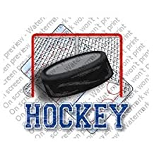 Hockey Edible Cupcake Toppers Decoration by Sweetn Treats