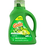Gain + Aroma Boost Liquid Laundry Detergent, Original, 64 Loads 100 fl oz (Packaging May Vary)