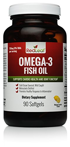 Leaf Omega 3 Premium Fish Ultra Purified