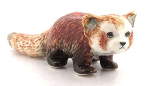 3 D Ceramic Toy Red Panda No.2 Dollhouse Miniatures Free Ship