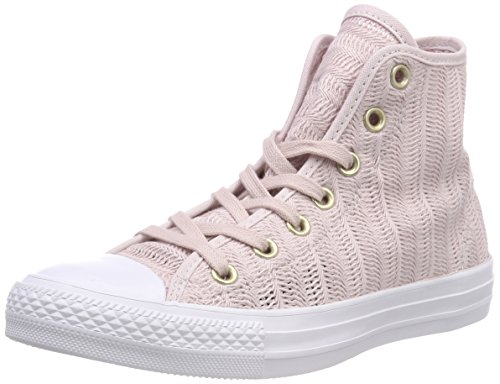 Barely Baskets Tan Rose Femme White Tan Tan CTAS Beige Beige 653 Hi Rose 653 Hautes Barely Barely White White Converse Rose nqgFvYww