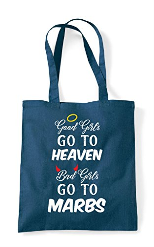 Heaven Do Petrol Personalised To Good Shopper Customised Girls Tote Go Bag Party Hen q87xYY