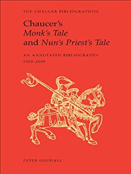 chaucer nuns priests tale Chaucer's the nun's priest's tale is at once a fable, a tale of courtly love, and a satire mocking fables and courtly love traditions to this end, chaucer makes use of several stylistic techniques involving both framing and content.