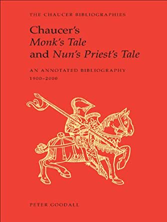 chaucers the nuns priest tale essay Chaucer: the nun's priests tale essay by zee7903, university the pardoners tale and the nun's priest's tale, both from chaucer's the canterbury tales.