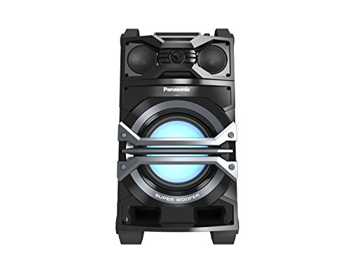 Panasonic 1000W Bluetooth DJ Jukebox Portable Audio System Black SC-CMAX5