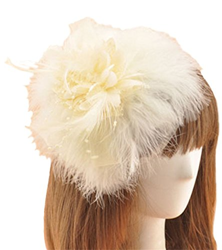 Fascinator Hair Clip Feather Headpiece Cocktail Party Wedding Hair Accessories (Halloween Costumes From Tv Shows And Movies)