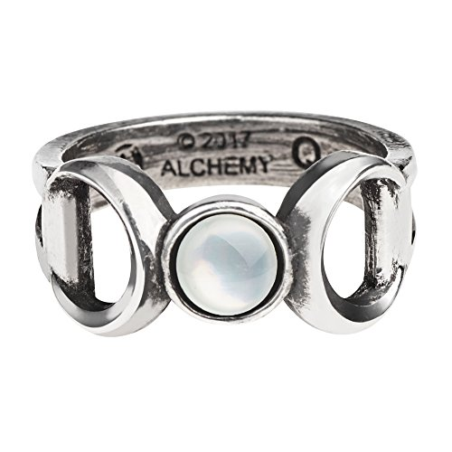 Triple Goddess Ring, size 7 US