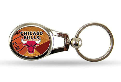 Nba Chicago Bulls Keychain (NBA Chicago Bulls Oval Keychain)