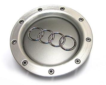 4 Tapones para Tapacubos de AUDI 146 mm. de Aluminio. Tapacubos para llantas 8D0601165K.: Amazon.es: Coche y moto