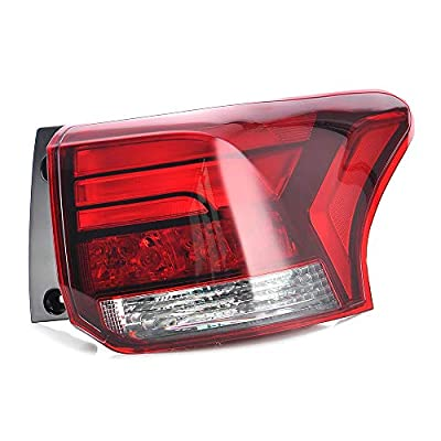MotorFansClub for Mitsubishi Outlander 2016-2020 Tail Light Rear Outer Lamp Taillight Assembly Right Passenger Side: Automotive