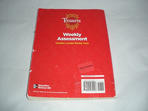 TREASURES - GRADE 5 - WEEKLY ASSESSMENT - INCLUDES LEVELED ...
