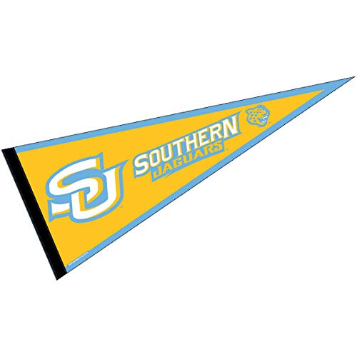 (College Flags and Banners Co. Southern University Pennant Full Size Felt)