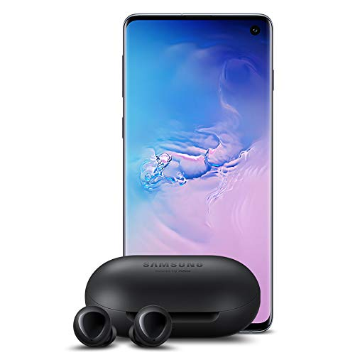 Samsung Galaxy S10 Factory Unlocked Phone with 512GB (U.S. Warranty), Prism Blue w/Galaxy Buds