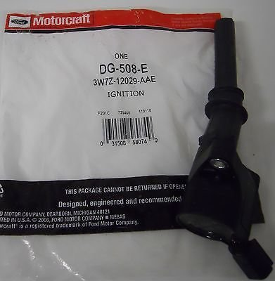 8 MOTORCRAFT IGNITION COIL DG508 FORD 4.6L 5.4L 6.8L V8 V10 ENGINE