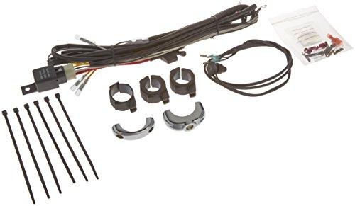 Country Switch Handlebar Cycle (Kuryakyn 2202 Universal Driving Light Wiring/Relay Kit)