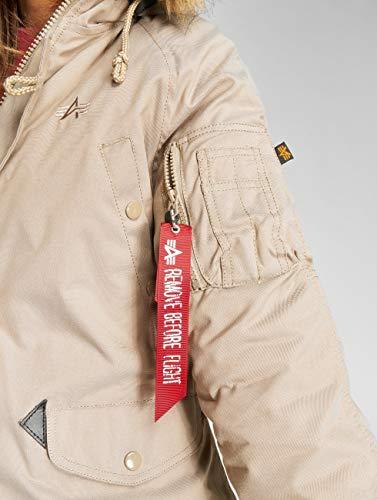 Parka Wmn Mujer Khaki Para Explorer Alpha 50wvqEOg