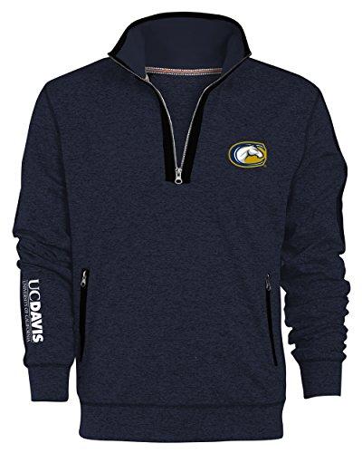 Camp David NCAA Roadster Herren Premium quarter-zip Pullover, herren, Roadster, Admiral, Medium