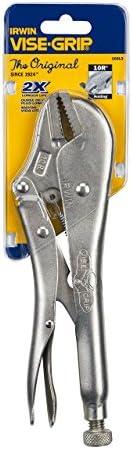 IRWIN Tools VISE-GRIP Locking Pliers, Original, Straight Jaw, 10-inch (102L3) [並行輸入品]