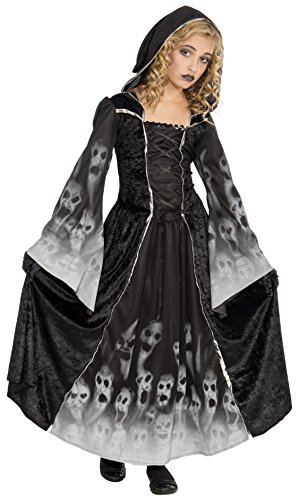 Halloween Costumes Bride Of Darkness (Forum Novelties Forsaken Souls Child Costume,)