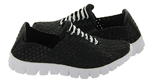 Women's Danielle Alexis Black Bottom Zee Women's Sneaker A Sizes US White Metallic Fashion xaYCSEqw